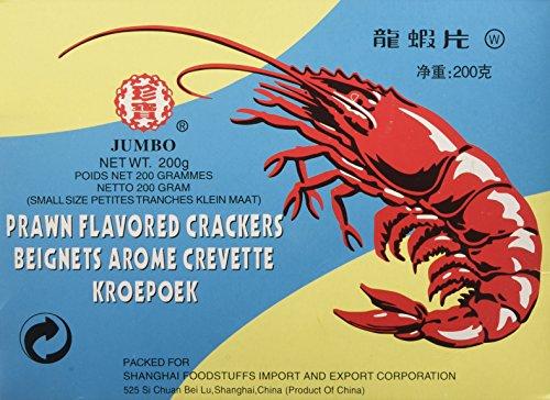 Jumbo Cracker al Gusto di Gamberi, Nuvole di Drago - 200 gr