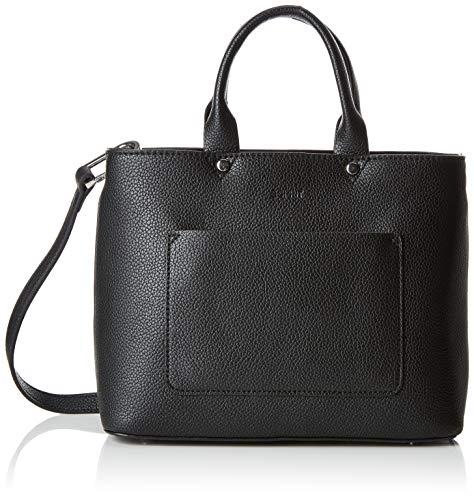 Esprit Accessoires Damen 029ea1o026 Tote, Schwarz (Black), 11x21x26 cm