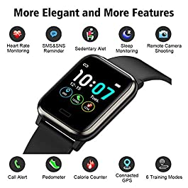 L8star Fitness Tracker, Activity Tracker with Heart Rate Sle...