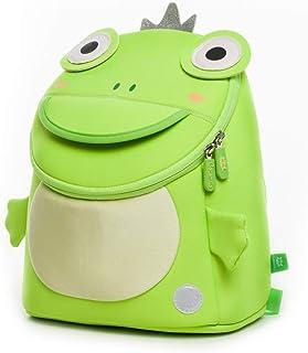 Mochila infantil para guardería, preescolar, niño, niño, bebé, mochila escolar, para guardería, preescolar, niñas, niños, verde (Verde) - KZ106