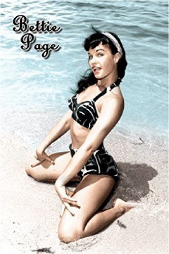Bettie Page Sand Poster Drucken (60,96 x 91,44 cm)