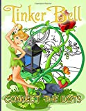 Tinkerbell Connect The Dots: Tinkerbell Amazing Dot Art Coloring Activity Books For Kid And Adult