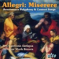 Miserere Renaissance Polyphony