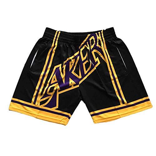 FENGCLG Herren- und Damen-Basketball Trikots Basketball-Shorts Lakers Bulls Raptors Heat Fitness Running Ropa Deportiva