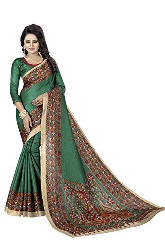 Bollywood Sari, Party, indische ethnische Kunst, Seide, Hochzeit - - Einheitsgröße