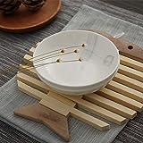 yszsd Hitzeschutz-Tischmatte für Zuhause, Anti-Heißmatte, Bambus, Schüsselmatte, Topfuntersetzer