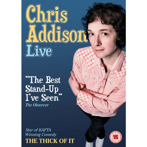 Chris Addison Live audiobook cover art