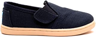 TOMS Avalon Slip-ONS Navy Burlap 10004735 Tiny