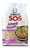 Arroz SOS Integral Con Quinoa + 4 Cereales 500G - [Pack De 10] - Total 2 Kg