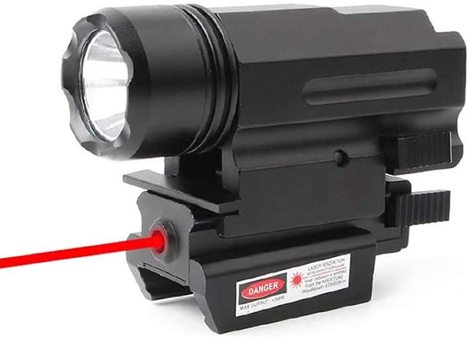 Higoo Tactical Red お買い得 ハイクオリティ Laser Dot Sight LE Powerful Scope Lumen + 500