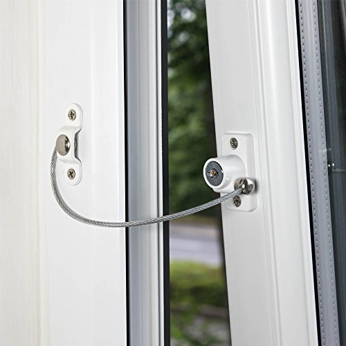 Cardea Essential Child Safety Cable Window Opening Restrictor Lock uPVC...