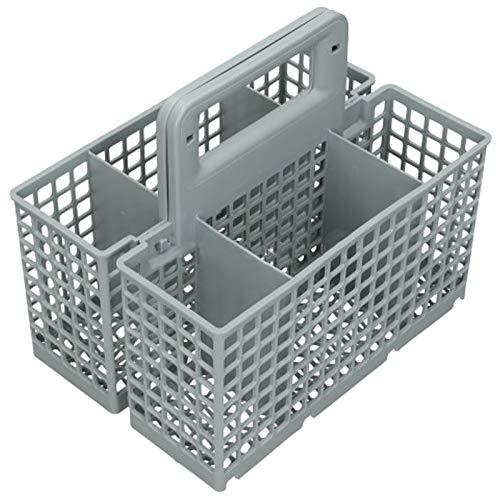 SPARES2GO bestekmand met twee stuks voor IKEA Vaatwasser (200 x 220 x 164mm)