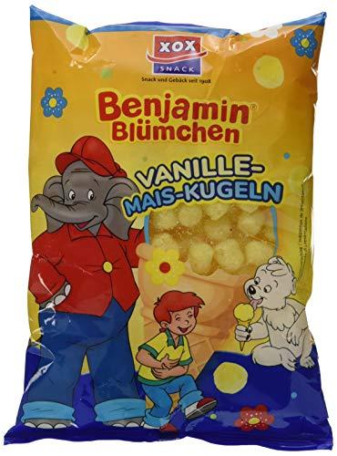 XOX Gebäck Benjamin Blümchen Vanille-Mais -Kugeln, 1er Pack (1 x 110 g)
