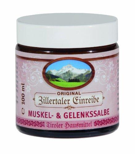 Zillertaler Einreibe Muskel und Gelenkssalbe, 1er Pack (1 x 100 ml)