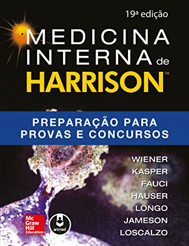 Medicina Interna de Harrison: Preparação para Provas e Concursos (Portuguese Edition)