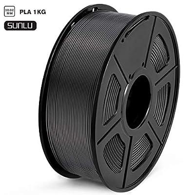 SUNLU Filament 1.75mm PLA 3D Drucker Filament PLA Tangle-Free 1kg Spool (2.2lbs), Toleranz beim Durchmesser liegt bei +/- 0,02mm