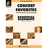 Concert favorites vol. 1 - bb tenor sax saxophone (Essential Elements 2000 Band Series)