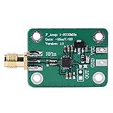 AD8318チップを採用して、電源を設計してしっかりしていて電気回路、感度がよくて、精度が高くようにおさえます。 1―8000MHzの仕事の周波数、-65dBmは+5dBmのダイナミックレンジ、7―15Vの直流電流の電源電圧に着きます。 RFの信号を直流電圧出力に変換することができ、とても実用的です。 標準SMA雌の頭RFインターフェイス、便利に使用です。 信号強度に適用するのRSSIは、周波数スペクトラム・アナライザー、利得制御などを指示することができます。