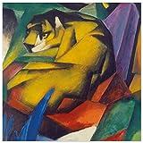 JUNIWORDS Poster, Franz Moritz Wilhelm Marc, Der Tiger, 60