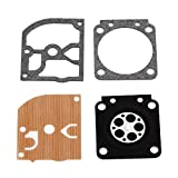 Heitune Carburateur Carb Kit De Réparation Joint Convient for STIHL MS 180 170 MS180 MS170 018 017 Chainsaw