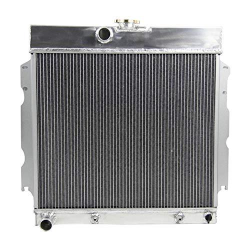 OzCoolingParts 3 Row Core Aluminum Radiator for 1963-1969 64 65 66 67 68 Plymouth Valient/Signet/Belvedere/Savoy/Satellite/Station Wagon & Dodge Dart V8