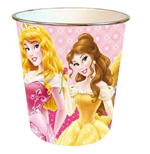 ROSE contenedor de basura DISNEY PRINCESS PAPEL