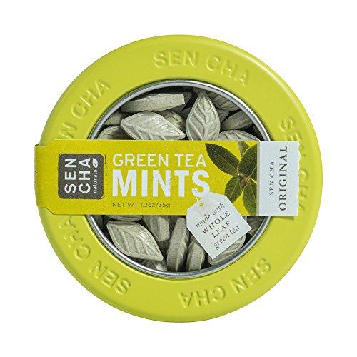 Sencha Naturals Green Tea Mints, SEN CHA Original, 1.2 Ounce (Pack of 1)