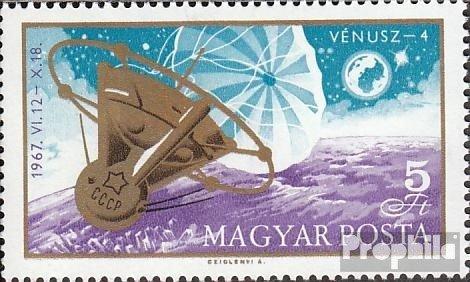 Prophila Collection Ungarn 2368A (kompl.Ausg.) 1967 Venus 4 (Briefmarken für Sammler) Weltraum