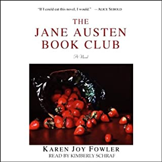 The Jane Austen Book Club audiobook cover art