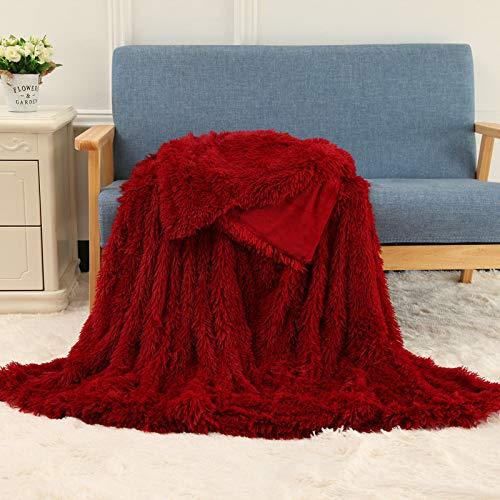 JXILY - Manta de lana de cordero para bebés, manta de fotos para recién nacidos, fondo de la ducha del bebé, crecimiento mensual, fotografía de cama, color azul