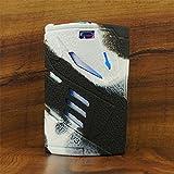 ModShield for Smok T-PRIV 3 300W TC Silicone Case ByJojo T PRIV3 Protective Cover Shield Skin Sleeve (White/Black)