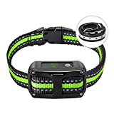 PetYeah Dog Bark Collar-5 Adjustable Sensitivity and Intensity Levels-Dual Anti-Barking Modes-Rechargeable/Rainproof/Reflective -No Barking Control Dog Shock Collar for Small Medium Large Dog