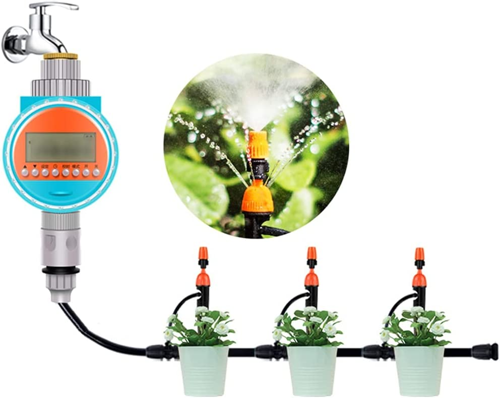 BBGS Irrigation System with wi Safety and trust Regular store Watering Timer Automatic