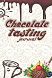 Chocolate Tasting Journal: Godiva chocolate theme journal kit gift box, Romantic journal page, Dark red, Chocolate almond milk for Cocoa bombs and ... valentine's day wine Notebook & Journal.
