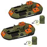 Best Ocean Fishing Kayaks - Sea Eagle PackFish7 Frameless Inflatable Angler Kayak Fishing Review