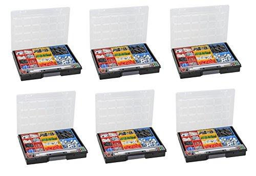 Sortimentskasten 6 Stück EuroPlus Flex 37-15 Allit 457202