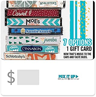 Mix It Up Gift Cards - Email Delivery (Print to redeem)