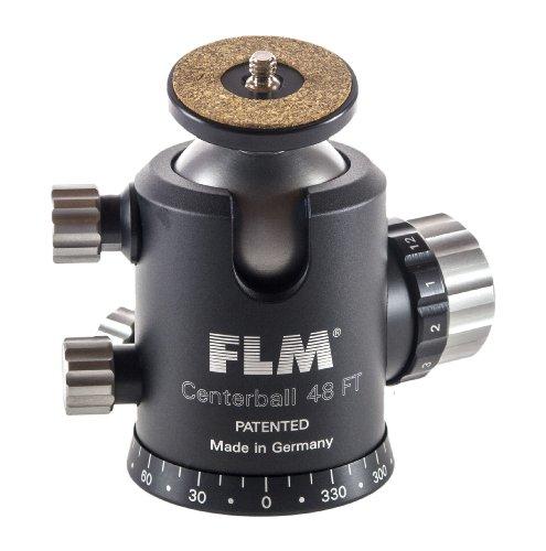 FLM 1248902–Kugelgelenk für Stativ, Schwarz