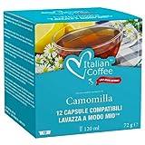 96 Capsule di camomilla compatibili Lavazza A Modo Mio®* Italian Coffee