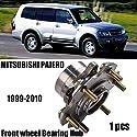 Fit für Mitsubishi Pajero NP NT NM NS Radlager vorne Hub 99-10 MN103586,Metallisch