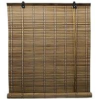 cortinas enrollables de madera