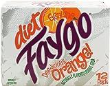 Faygo diet orange soda, 12-pack 12-fl. oz. cans