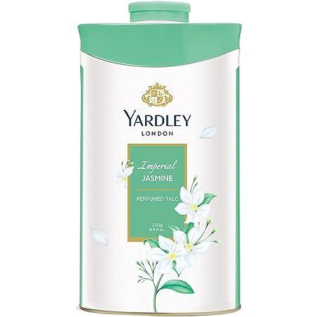Yardley London Imperial Jasmine Perfumed Talc for Women, 250g