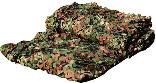 HTTWZW Camuflaje compensación for los niños, Woodland 2x4m camuflaje selva de camuflaje red de redes de camuflaje neta for los niños den Conveniente for acampar al aire libre de la caza oculta la barr
