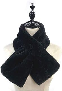 luosh 15 x 90 cm dik pluche kunstkonijntje bont sjaal solide snoep kleur kraag sjaal hals halswarmer oksel gebreide halsdo...