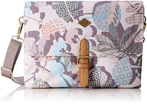 Oilily Damen M Flat Shoulder Bag Umhängetasche, Weiß (Oyster White), 2.5x20.5x28 cm