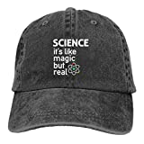 Yuanmeiju Science Unisex Adjustable Casquettes de Baseball Chapeaux de Cowboy