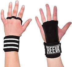 Reeva kangaroo grips - wrist wrap voor Heren en Dames | Handschoenen geschikt voor Crossfit, Krachttraining, Fitness en Bo...