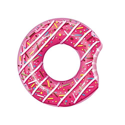WANGYI Schwimmen-Ring Erwachsener Donut Schwimmring Schwimmen Ring Achsel-Leben-Ring Eindickung Sicherheit (Color : Pink)