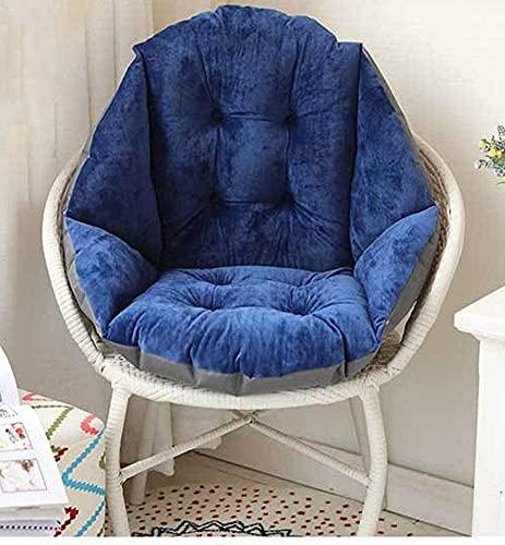 CHAJI Cuscino da Giardino all'aperto Cuscino Caldo Caldo all-in-One Cuscino Sedile Velluto Spesso Super Morbido Guscio Forma Pad Poltrona Cuscino Cuscino,A